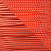 Neon Orange - 1/8 Shock Cord with Reflective Tracers