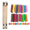 """Paracord Combo Crafting Kit with a 10"""" Pocket Pro Jig - Big Neon"""
