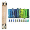 """Paracord Combo Crafting Kit with a 10"""" Pocket Pro Jig - Coastal"""