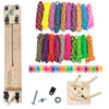 "Paracord Craft Kit w/ 10"" Pocket Pro Jig & Monkey Form Big Neon"