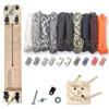 "Paracord Craft Kit w/ 10"" Pocket Pro Jig & Monkey Form Tactical"