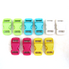 3/8 Inch Buckles (10 Pack) - Pastels