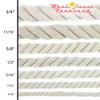 Original Cotton Rope - Size Chart