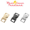 Alloy 1/2 inch Side Release Buckles - Multiple Colors