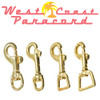 Brass Swivel Snap Hooks