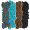"""1/4"""" Twisted Cotton Rope Kit - Cookie Monster - 40'"""