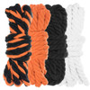 "1/4"" Twisted Cotton Rope Kit - Jack O'Lantern - 40'"