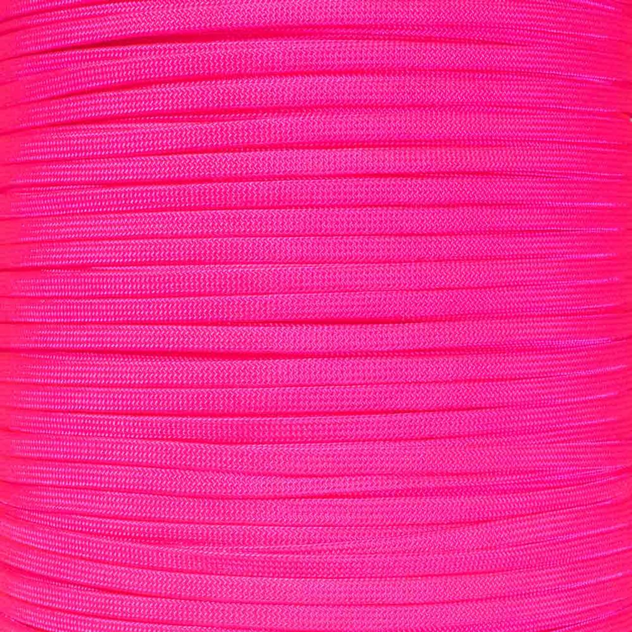 Pet Apparel West Coast Paracord Coreless 650 Nylon Cord Home D/écor Craft Projects Neon Yellow, 50 Feet