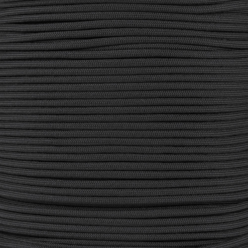 Black 550 Type III MIL-C-5040 Paracord