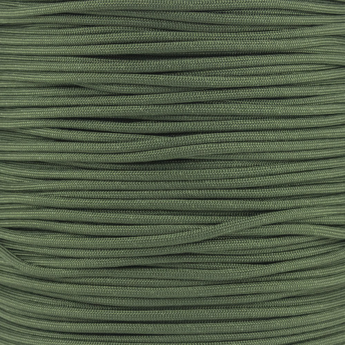 Camo Green 550 Type III MIL-C-5040 Paracord