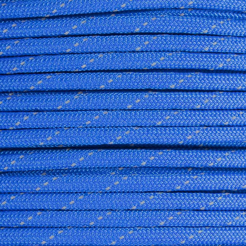 Royal Blue - 550 Paracord with Reflective Tracers