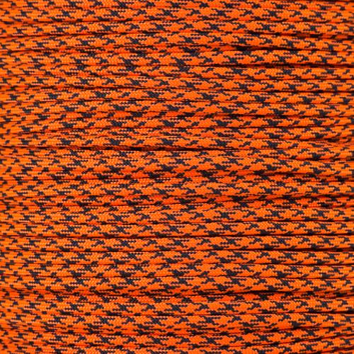 Neon Orange Camo - 550 Paracord