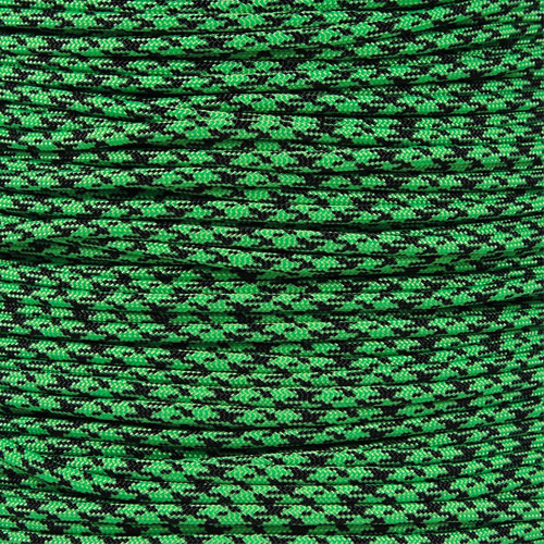 Neon Green Camo - 550 Paracord