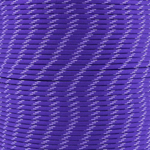 Acid Purple - 550 Paracord with Glow in the Dark Tracers