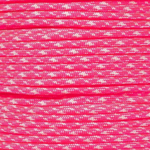 Neon Pink Zebra - 550 Paracord