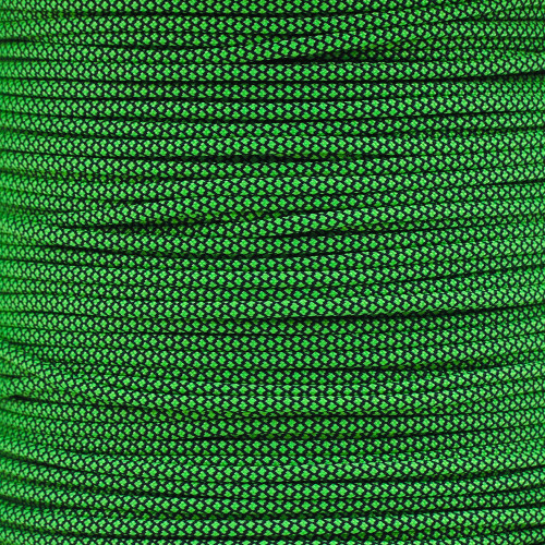 Neon Green Diamond - 550 Paracord