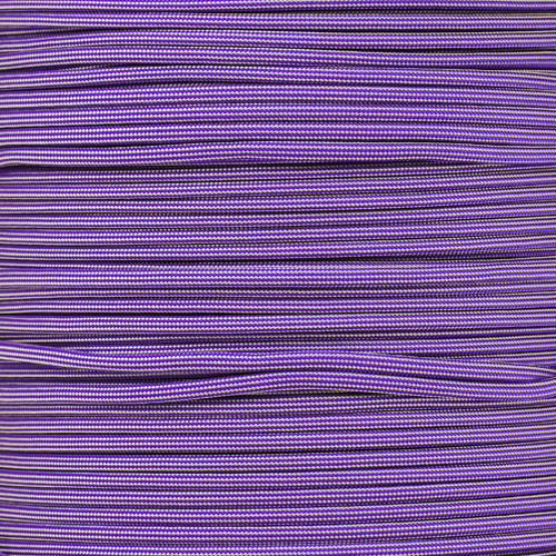 Acid Purple/Silver Stripe - 550 Paracord