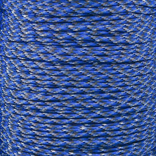 Blue Camo - 550 Paracord - 100 Feet