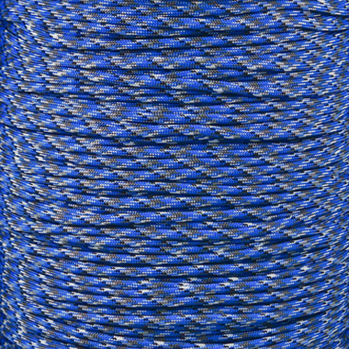 Blue Camo - 550 Paracord - 100 Feet
