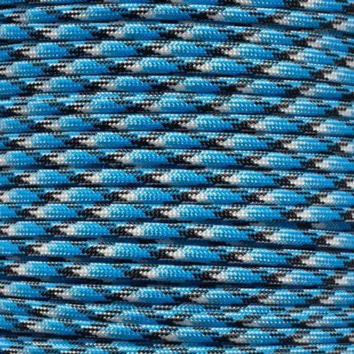 Blue Snake - 550 Paracord - 100 Feet