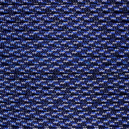Blue Speck Camo - 550 Paracord - 100 Feet