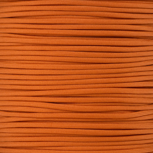 Burnt Orange - 550 Paracord - 100 Feet