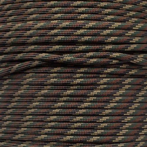 Camo Pattern - 550 Paracord - 100 Feet