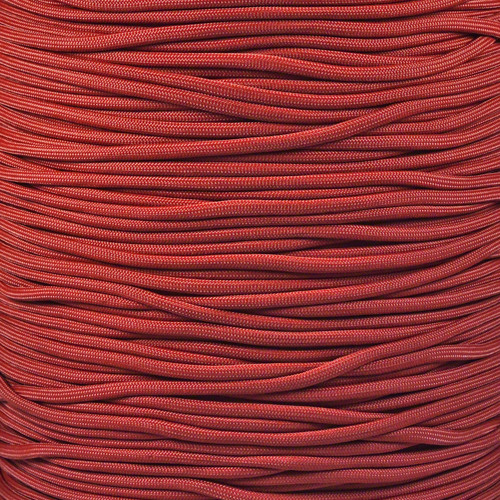 Crimson - 550 Paracord - 100 Feet