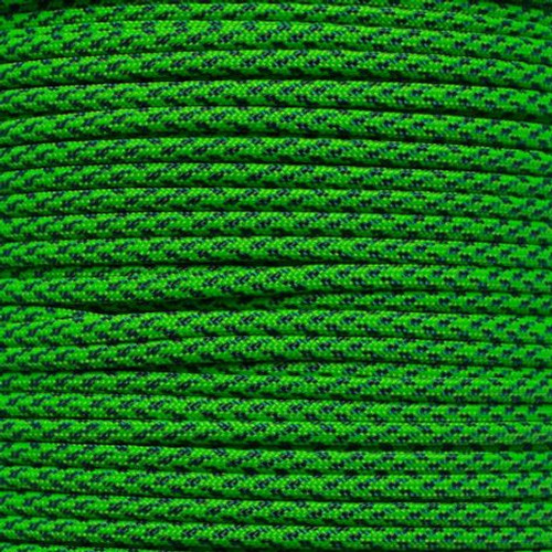 Green Speck Camo - 550 Paracord - 100 Feet