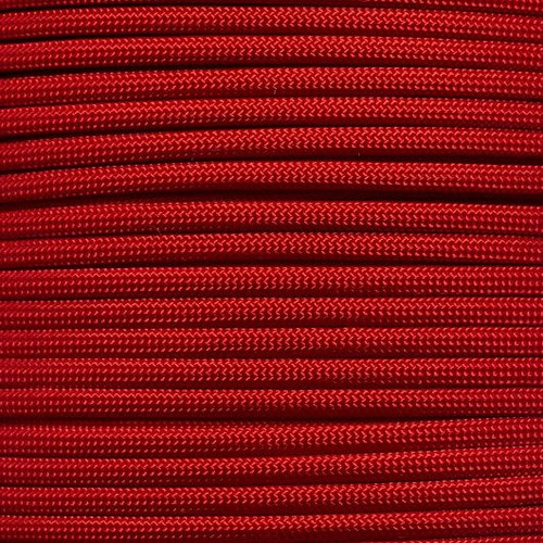 Imperial Red - 550 Paracord - 100 Feet
