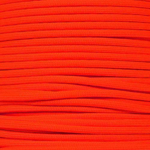Neon Orange - 550 Paracord - 100 Feet