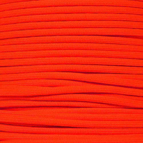 Neon Orange - 550 Paracord - 100 Feet
