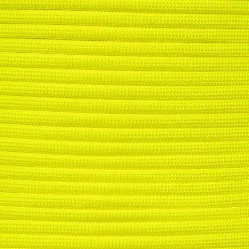 Neon Yellow - 550 Paracord - 100 Feet