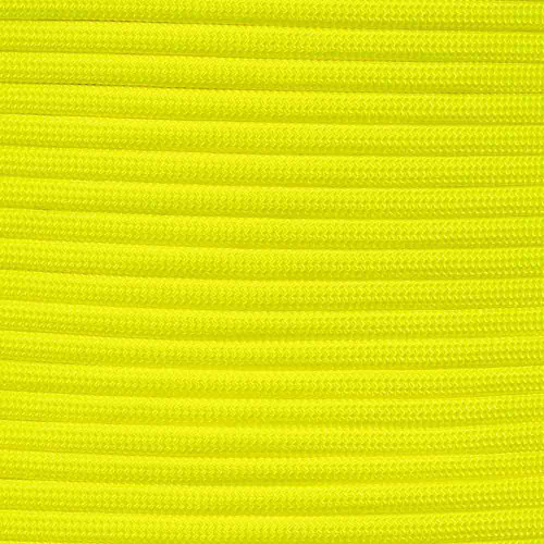 Neon Yellow - 550 Paracord - 100 Feet