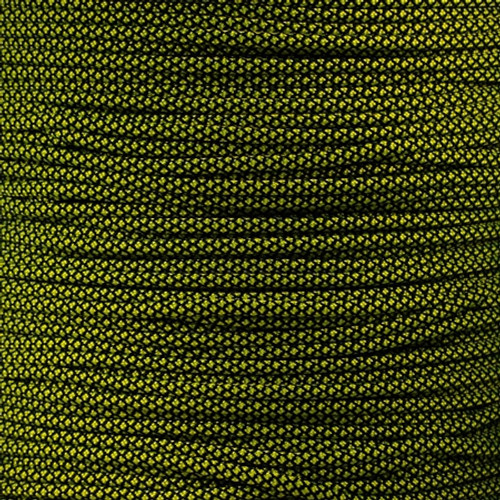 Neon Yellow Diamond - 550 Paracord - 100 Feet