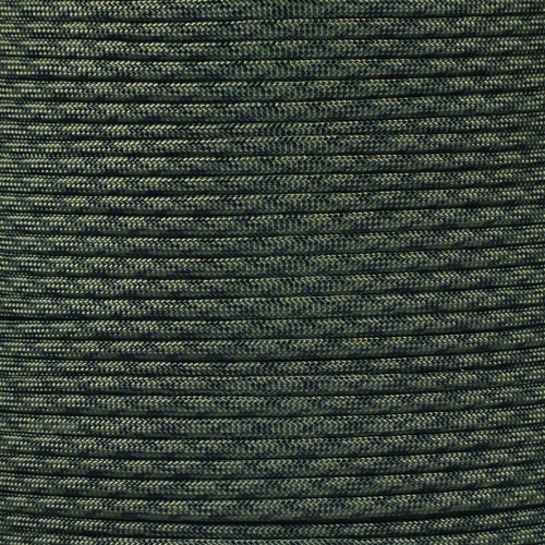 Olive Drab Black Camo - 550 Paracord - 100 Feet