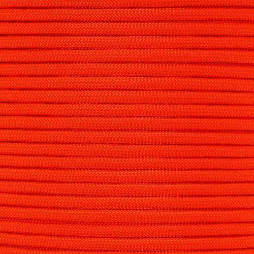 Orange - 550 Paracord - 100 Feet