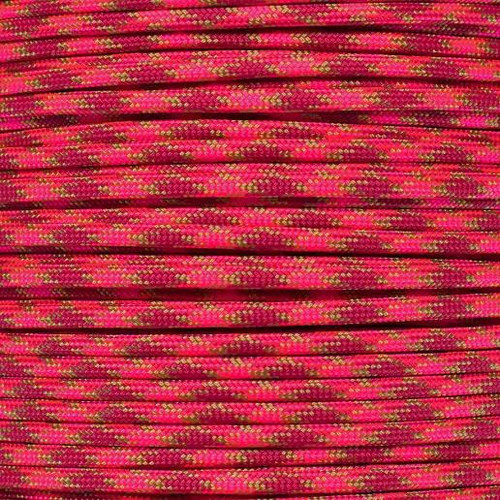 Red Hots - 550 Paracord - 100 Feet
