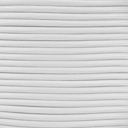 1/4in Parachute Cord - White Para-Max