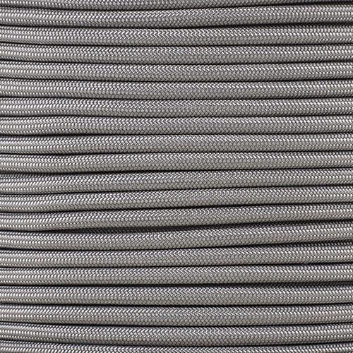1/4in Parachute Cord - Charcoal Gray Para-Max