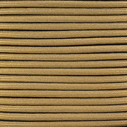 1/4in Parachute Cord - Coyote Brown Para-Max