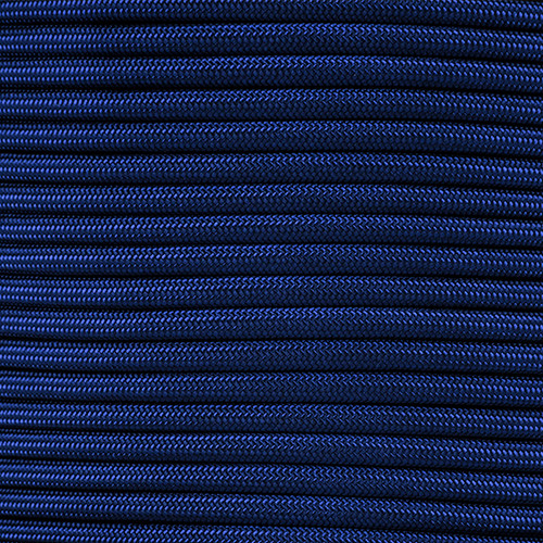 1/4in Parachute Cord - Midnight Blue Para-Max