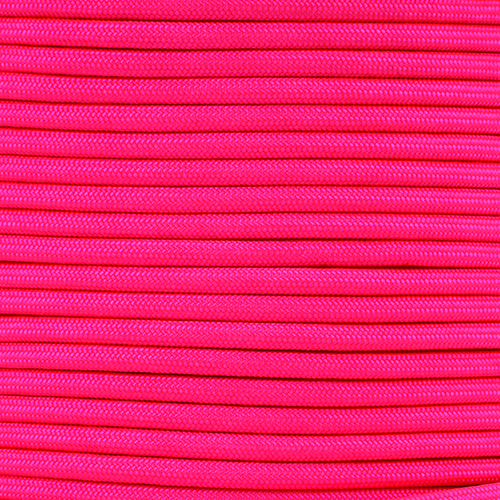 1/4in Parachute Cord - Neon Pink Para-Max