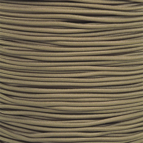 Coyote Brown - 1/8 Shock Cord