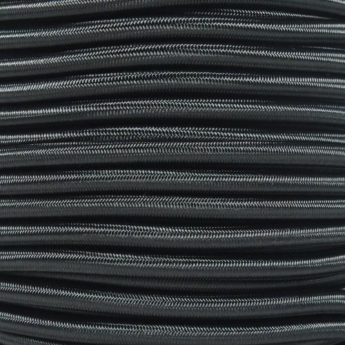 Black - 1/4 Shock Cord