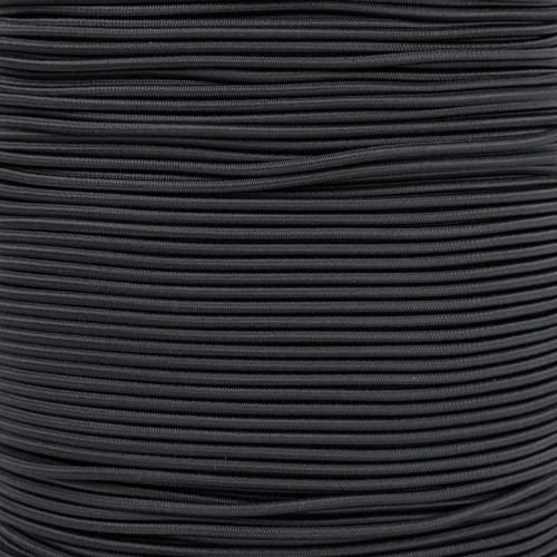 2.5mm Shock Cord - Black