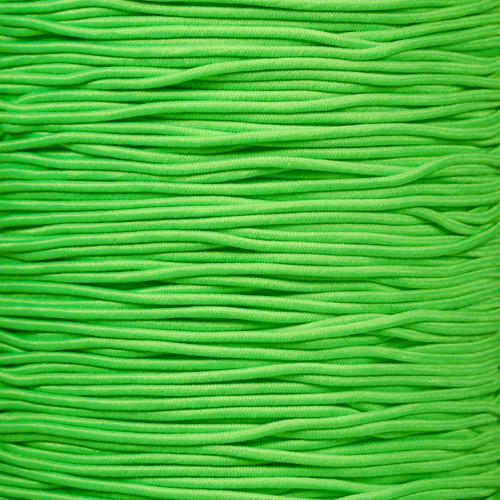Neon Green - 1/16 Elastic Cord