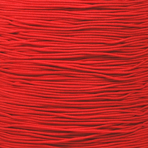 Imperial Red - 1/32 Elastic Cord