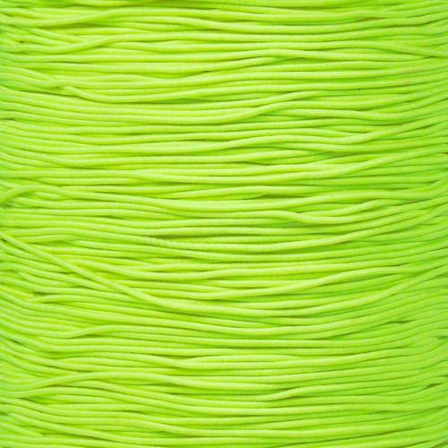 Neon Yellow - 1/32 Elastic Cord