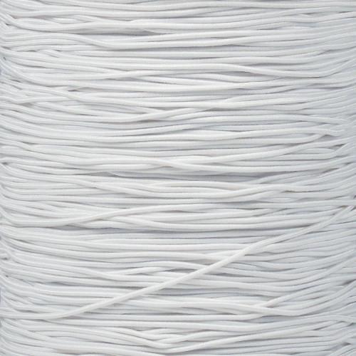 White - 1/32 Elastic Cord